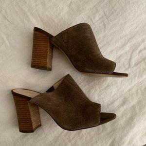 Nine West Suede Mule - Size 6.5